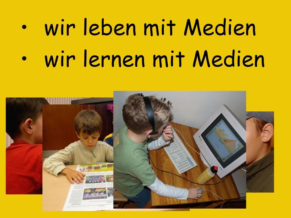Medienerziehung findet in der Emil-Nolde-Schule sowohl in speziell dafür ausgewiesenen ….Medienstunden als auch im normalen Fachunterricht ….(Deutsch, HSU oder Mathematik) und in Arbeitsgemeinschaften, wie zum Beispiel ….bei unserer Schülerzeitung Der Emil statt.