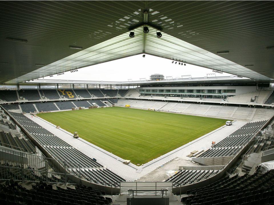 /6 STADIONARBEITEN Übersicht/Themen Rahmenprogramm Spektakel Match Tag der offenen Tür Tickets Stadionarbeiten Interview