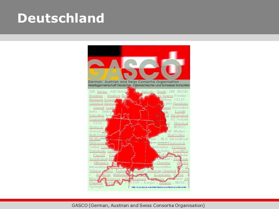 GASCO (German, Austrian and Swiss Consortia Organisation) Fraunhofer-Gesellschaft Im Internet: http://www.fraunhofer.de Ansprechpartner: Michael Erben-Russ München Michael.Erben-Russ@zv.fraunhofer.de
