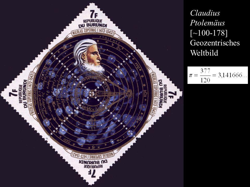 Claudius Ptolemäus [~100-178] Geozentrisches Weltbild