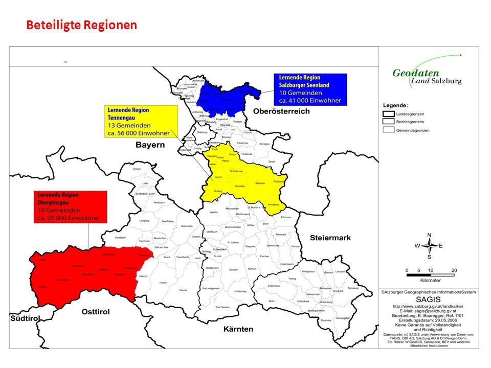 Beteiligte Regionen