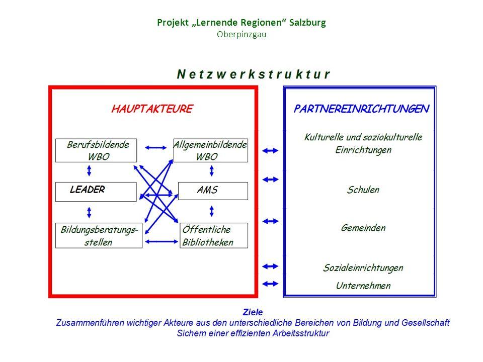 Projekt Lernende Regionen Salzburg Oberpinzgau