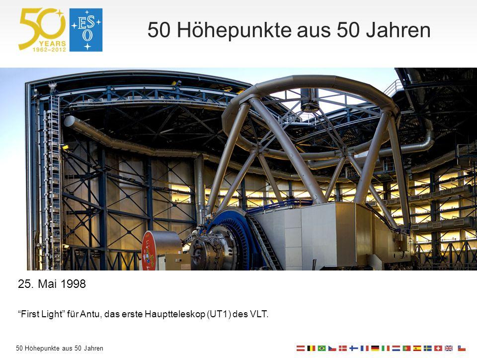 50 Höhepunkte aus 50 Jahren 25.