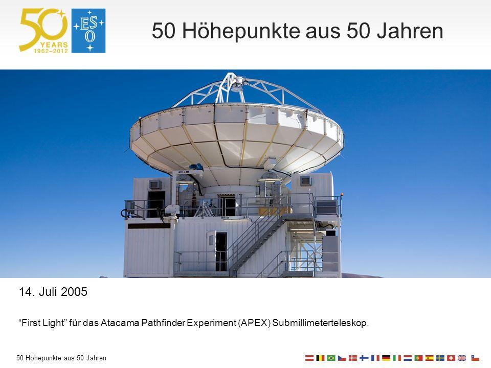 50 Höhepunkte aus 50 Jahren 14.