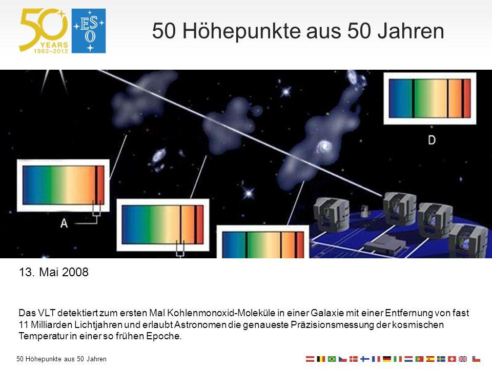 50 Höhepunkte aus 50 Jahren 13.