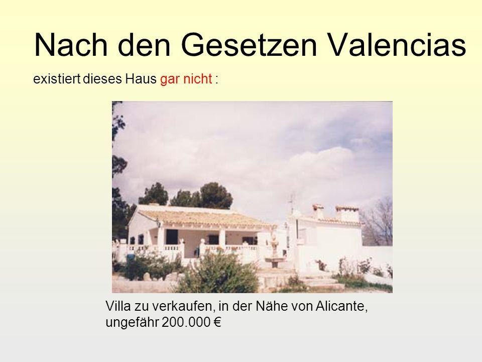 Nach den Gesetzen Valencias existiert dieses Haus gar nicht : Villa zu verkaufen, in der Nähe von Alicante, ungefähr 200.000
