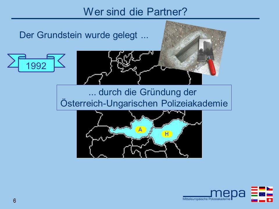 6 A H 1992 Wer sind die Partner?...