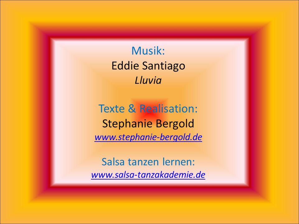 Und auch du, liebenswerter Salsero. Geführt durch dein Herz und die Musik, die sich durch deinen Körper Ausdruck verschafft. Ja, DU! DU!