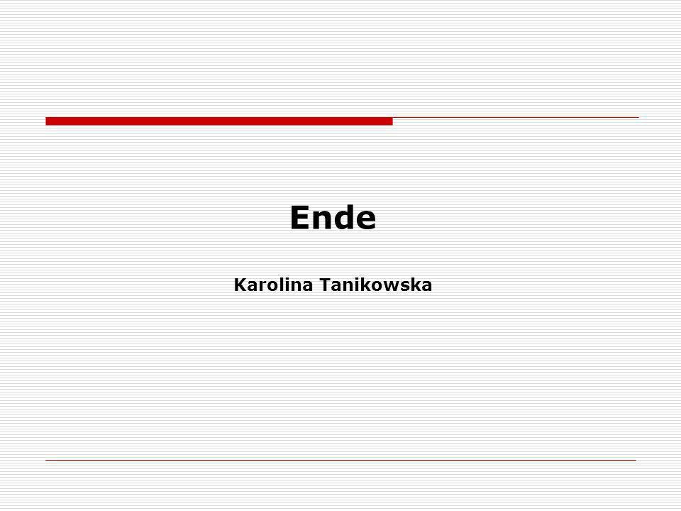 Ende Karolina Tanikowska