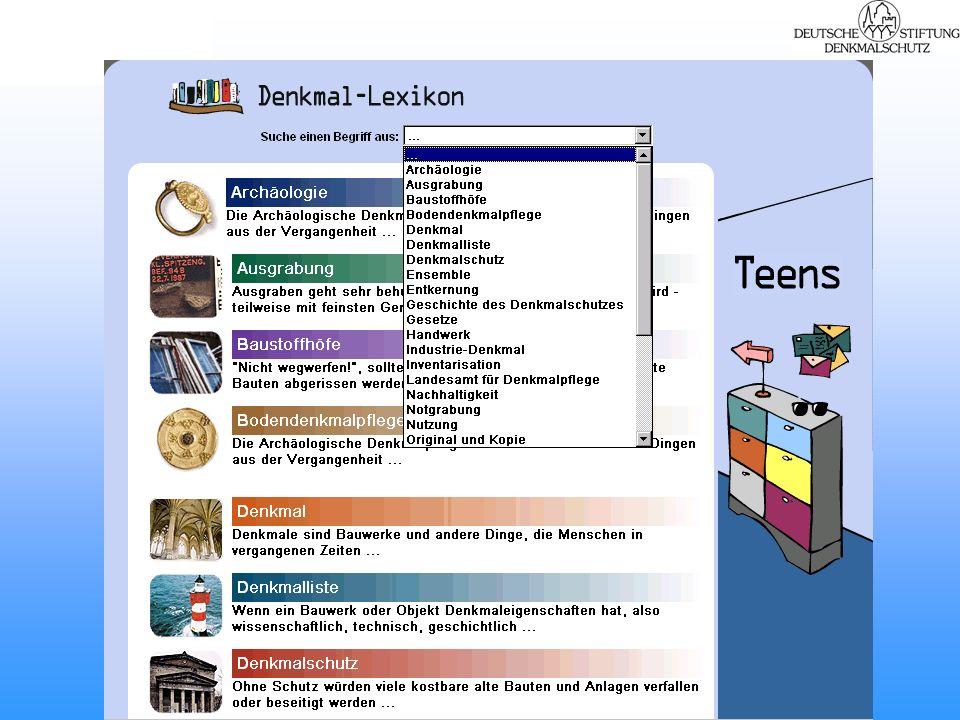 Leistungen der Veranstalter: Die geförderten Schulteams erhalten –finanzielle Unterstützung –beratende und koordinierende Unterstützung –3 Begleitveranstaltungen –pädagogische Materialien –Internet-Plattform