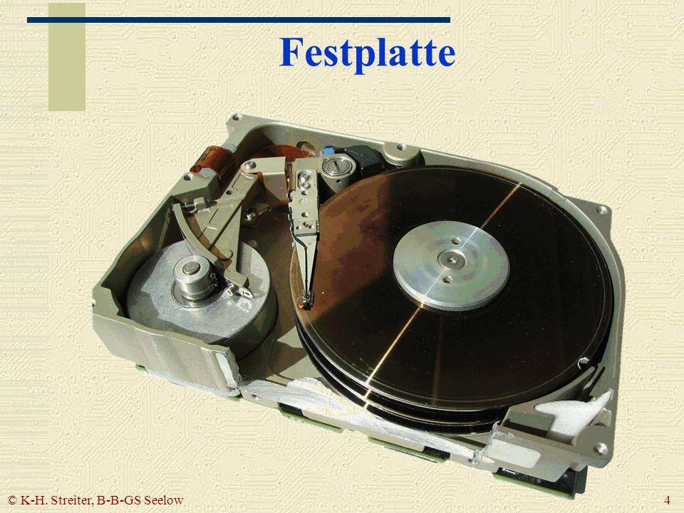 © K-H. Streiter, B-B-GS Seelow 4 Festplatte