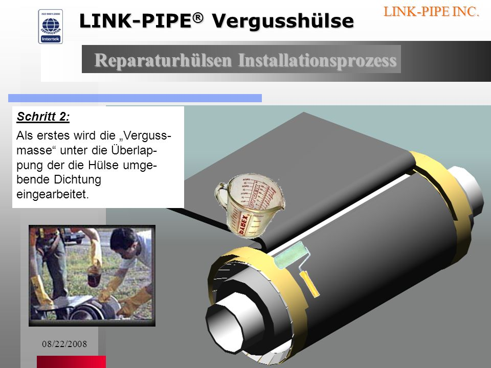 08/22/200816 LINK-PIPE INC.