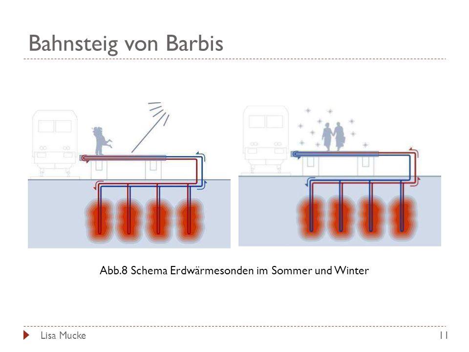 Bahnsteig von Barbis 11 Abb.8 Schema Erdwärmesonden im Sommer und Winter Lisa Mucke