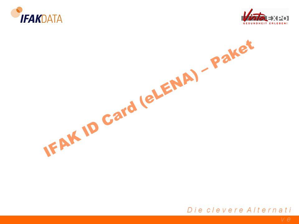 IFAK ID Card (eLENA) – Paket