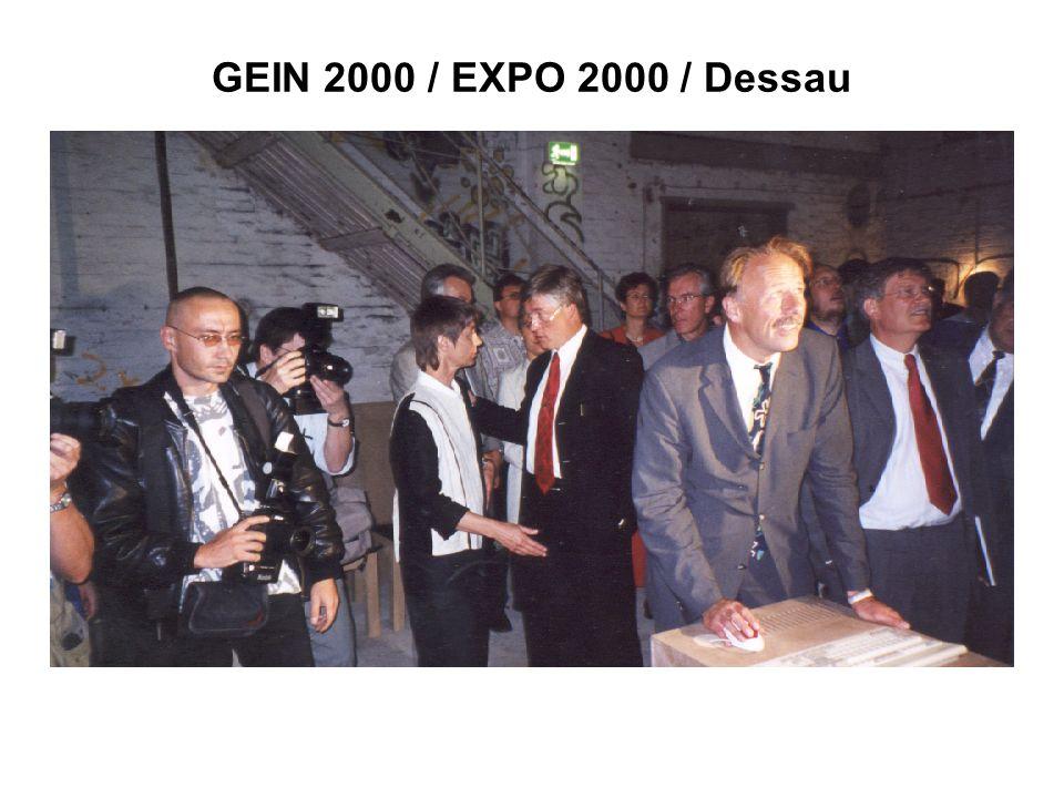 GEIN 2000 / EXPO 2000 / Dessau