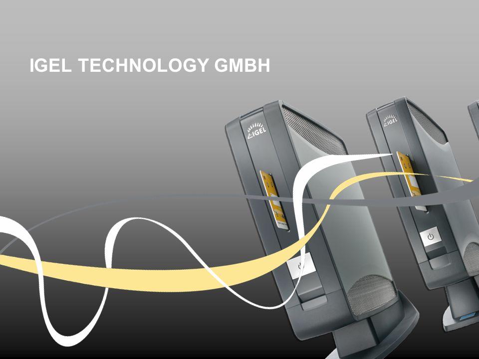 Stefan Wiegel – Director Channel EMEA 34 IGEL Technology | AIP Training 2012 IGEL Multidisplay (UMD) Multidisplay Lösung: UD5 dient als Master Client, weitere Displays können über zusätzliche UD Clients (Satelliten) hinzugefügt werden.