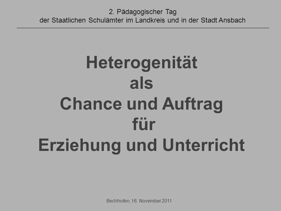 2011-2012 Tandemklassen: Zweitlehrerprinzip, (20 in Bayern, 2 in Mfr.