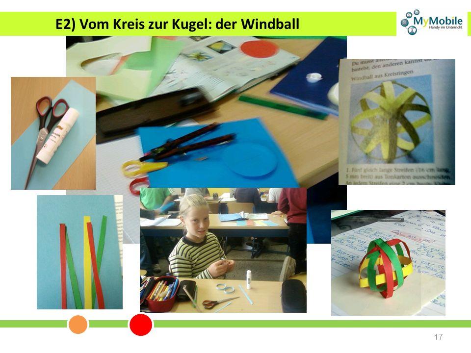 17 E2) Vom Kreis zur Kugel: der Windball