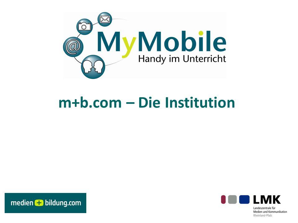 m+b.com – Die Institution
