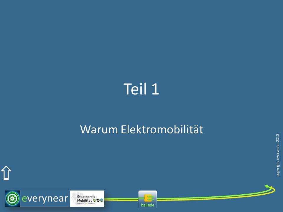 copyright everynear 2013 Teil 1 Warum Elektromobilität