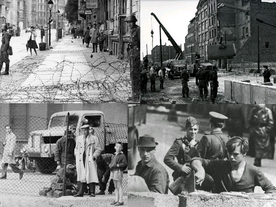 Gründe des Mauerbaus Da von 1949 – 1961 ca.2,6 Mio.