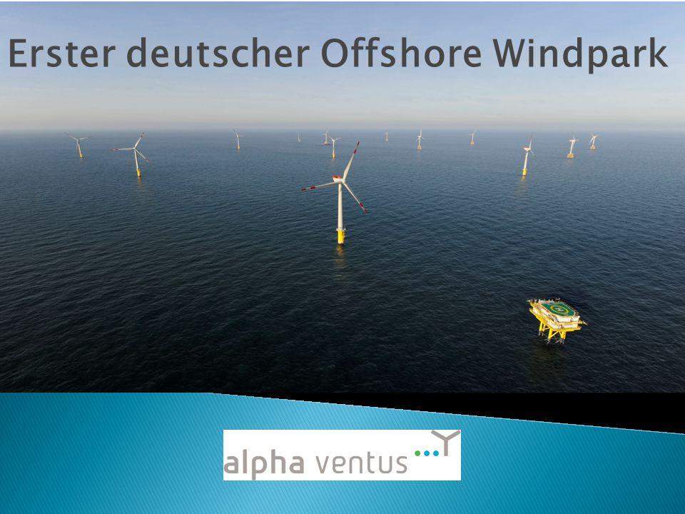Überblick über die Präsentation Vorstellung alpha ventus Doti Der Windpark Lage WEA Techn.