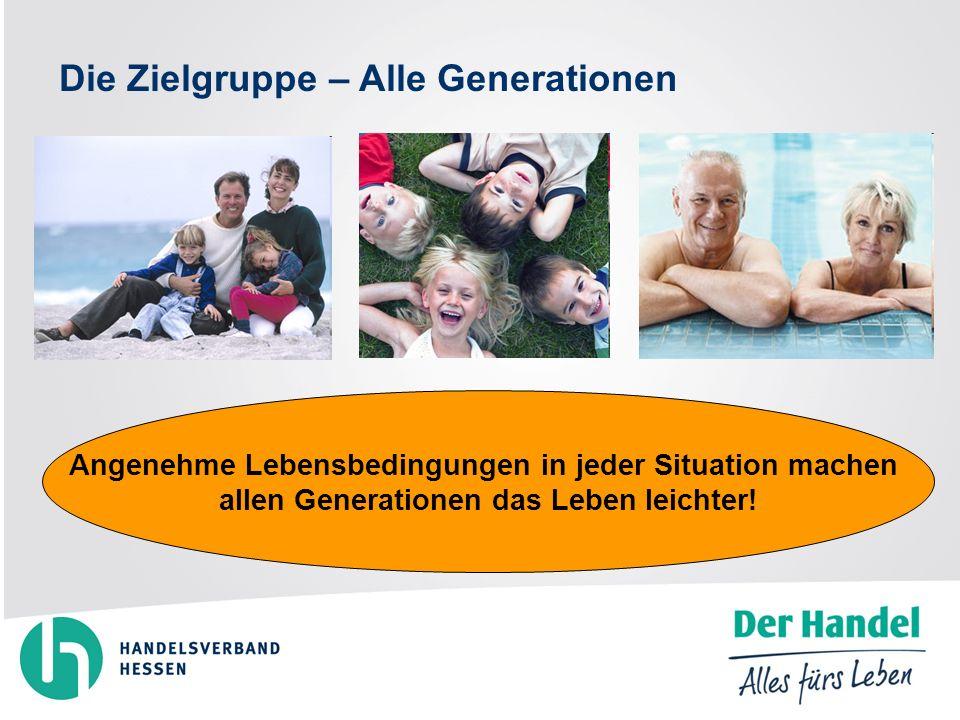 Angenehme Lebensbedingungen in jeder Situation machen allen Generationen das Leben leichter.