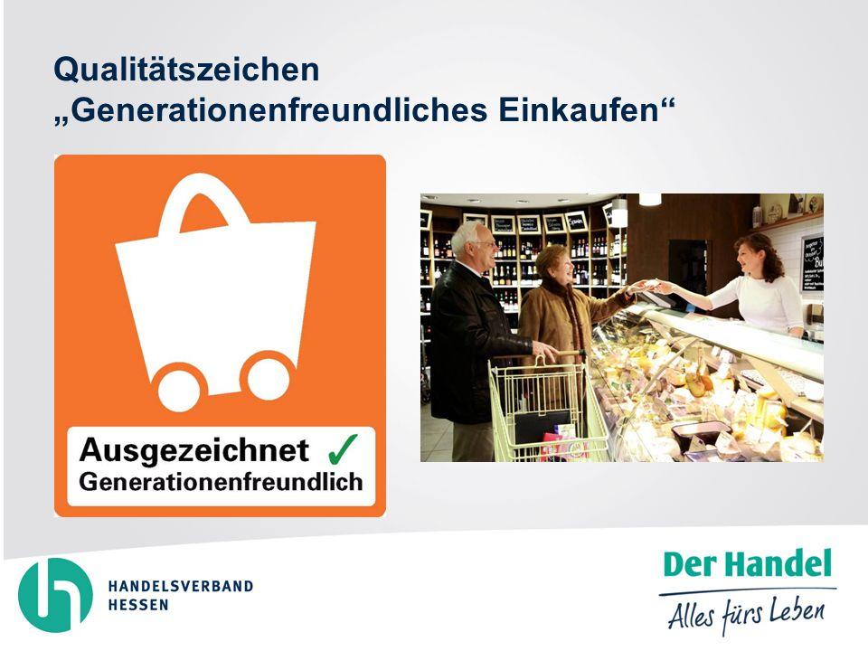 Qualitätszeichen Generationenfreundliches Einkaufen