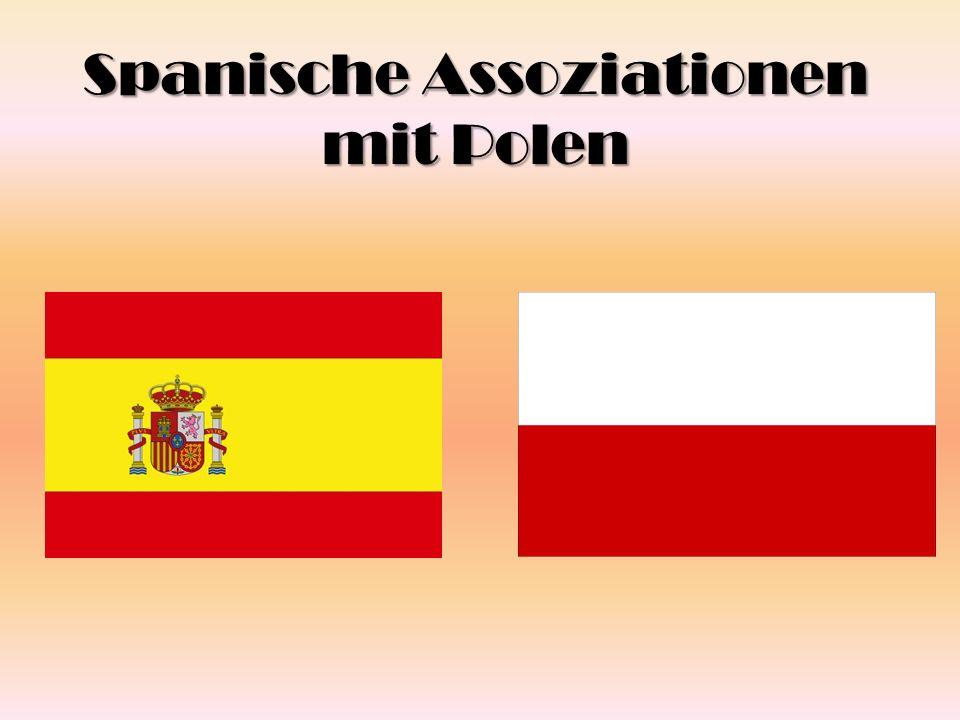 Umfrage 1.Was assoziieren Sie mit Polen .2. Kennen Sie die Polen, die in Spanien wohnen.