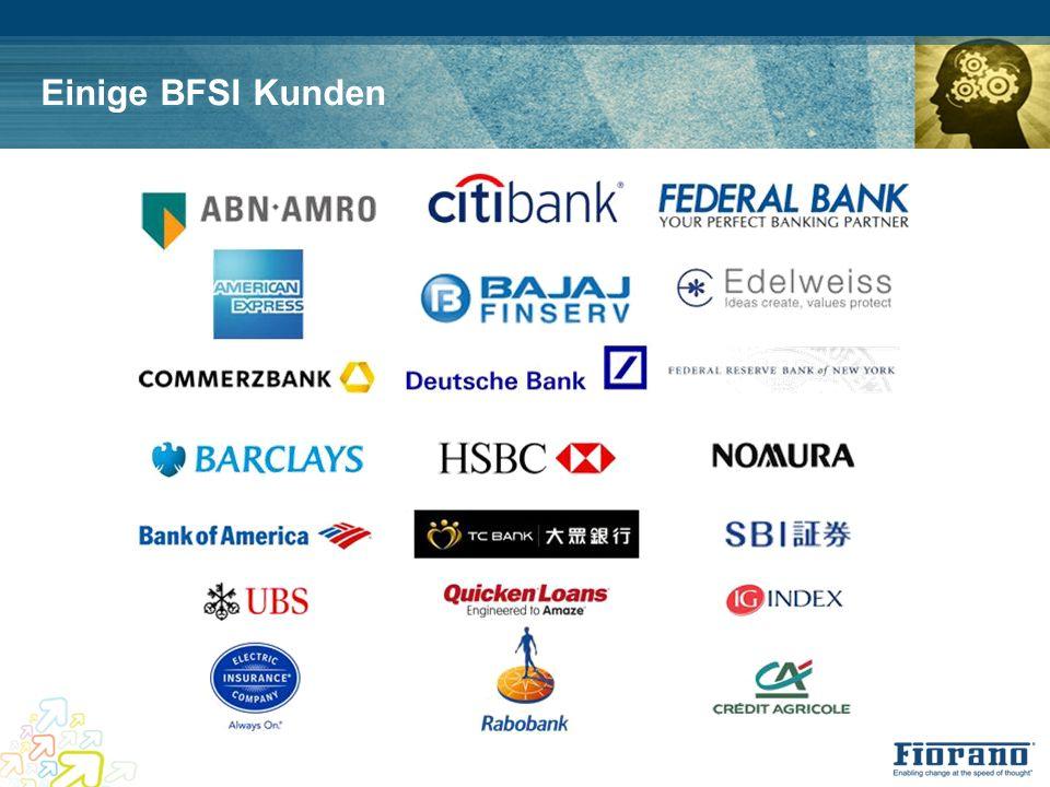 Einige BFSI Kunden