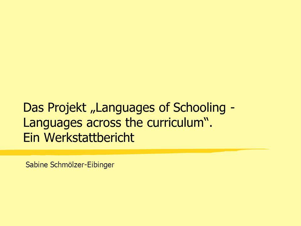 Sabine Schmölzer-Eibinger Operatoren 286 Typen 50 Typen mehrfach verwendet unscharfe Begriffe (Passe Partout-Verben) –diskutieren –anwenden –nutzen –entwickeln –herausarbeiten