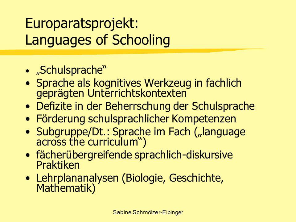 Sabine Schmölzer-Eibinger Begriffe die sich auf non-verbale Aktivitäten beziehen z.B.