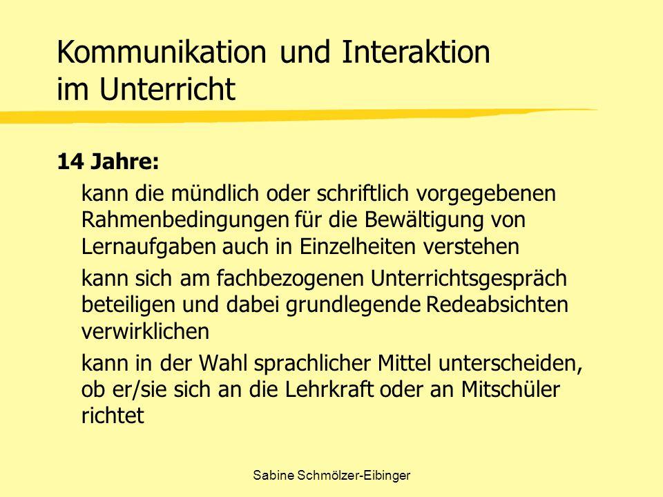 Sabine Schmölzer-Eibinger Fächerprofile