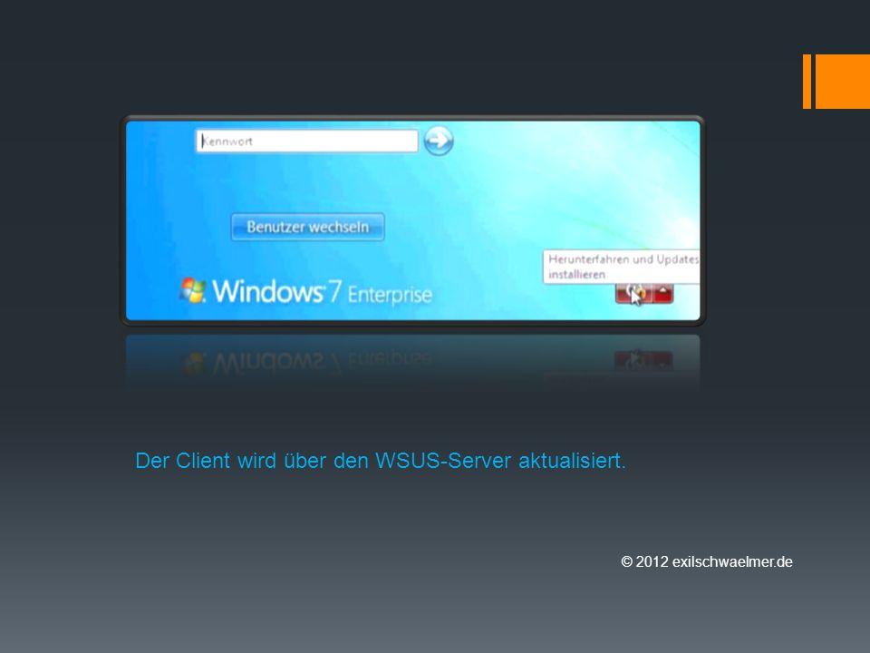 © 2012 exilschwaelmer.de Genehmigte Updates werden automatisch installiert.