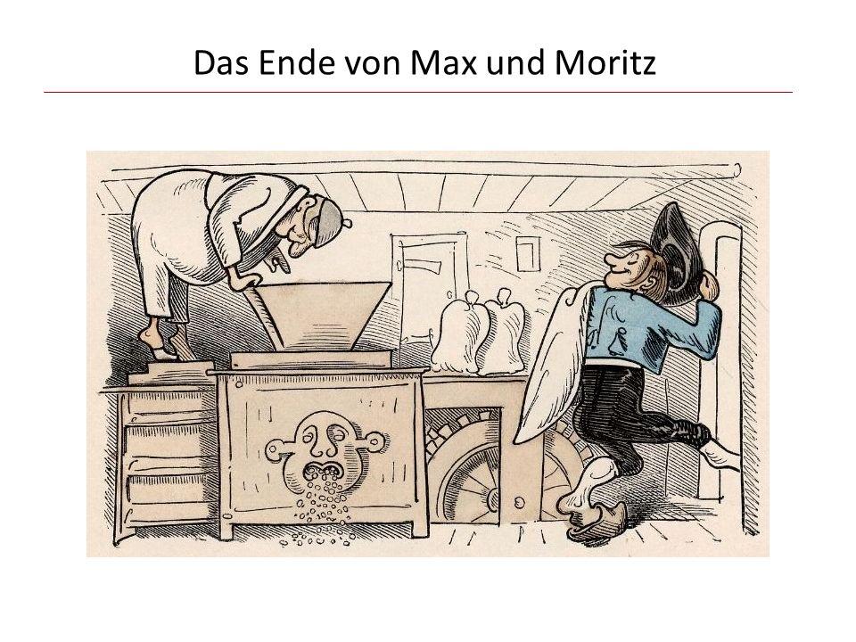 Das Ende von Max und Moritz