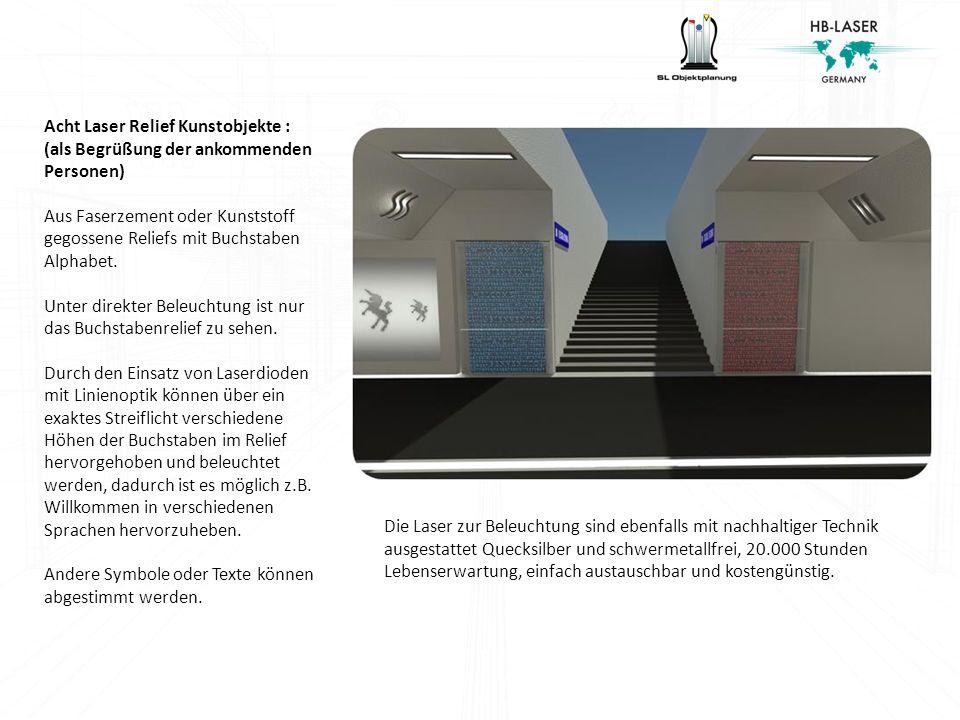 Die Laserreliefs entstanden aus einer Zusammenarbeit der Künstlerin Betina Nuschei (http://www.bettinanuschei.com/) und Harald Bohlinger.