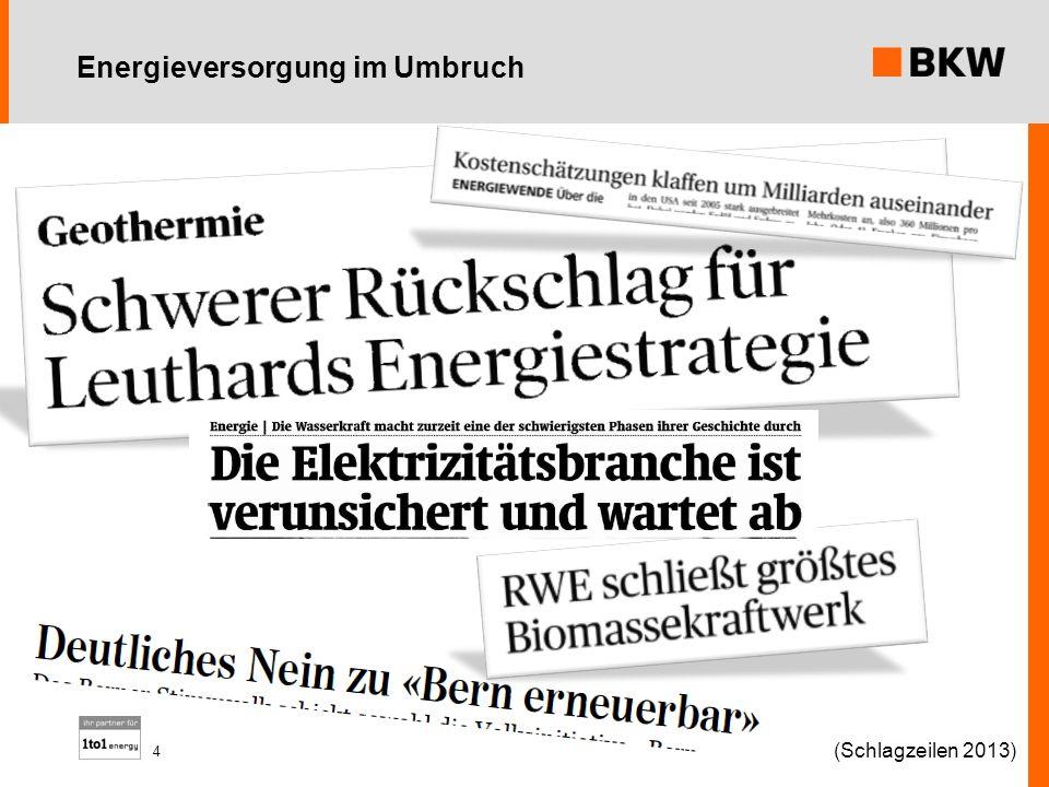 Energieversorgung im Umbruch (Schlagzeilen 2013) 4