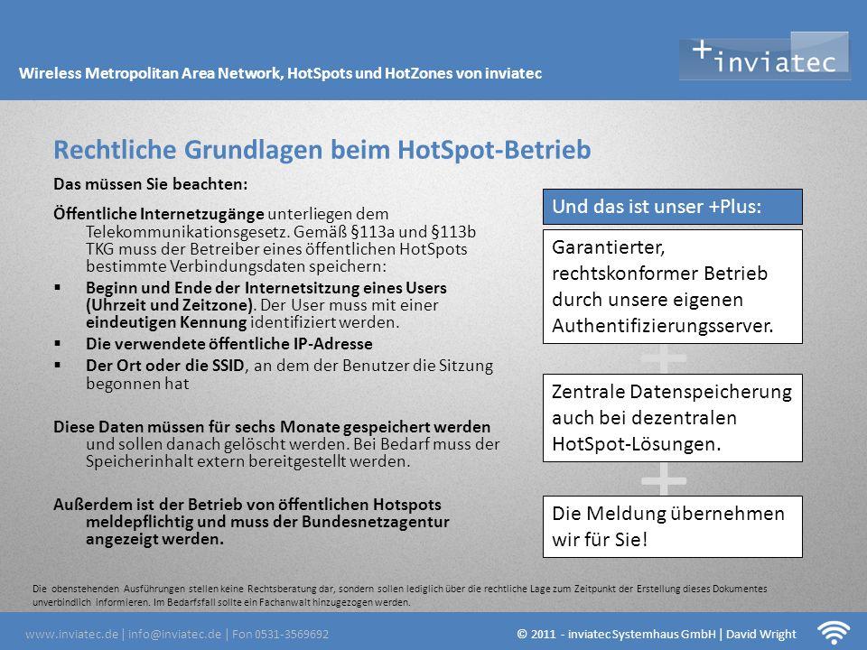 Fehmarn Hotsots © 2011 - inviatec Systemhaus GmbH / David Wright W-LAN flächendeckend.