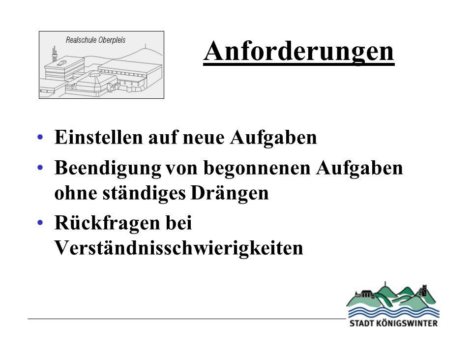 Schulgesetz NRW Erprobungsstufe Abschlüsse Regelungen zur Anmeldung