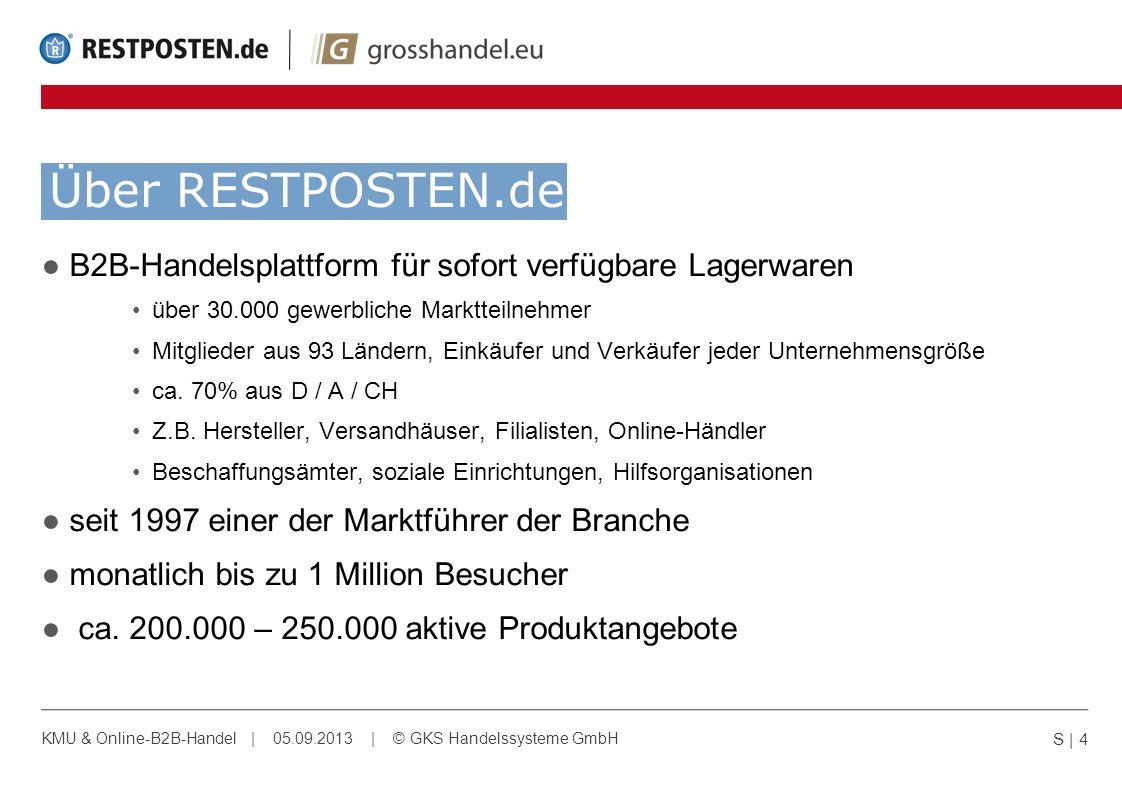 Über RESTPOSTEN.de B2B-Handelsplattform für sofort verfügbare Lagerwaren über 30.000 gewerbliche Marktteilnehmer Mitglieder aus 93 Ländern, Einkäufer
