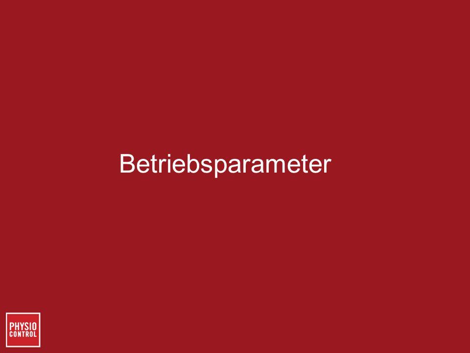 Betriebsparameter