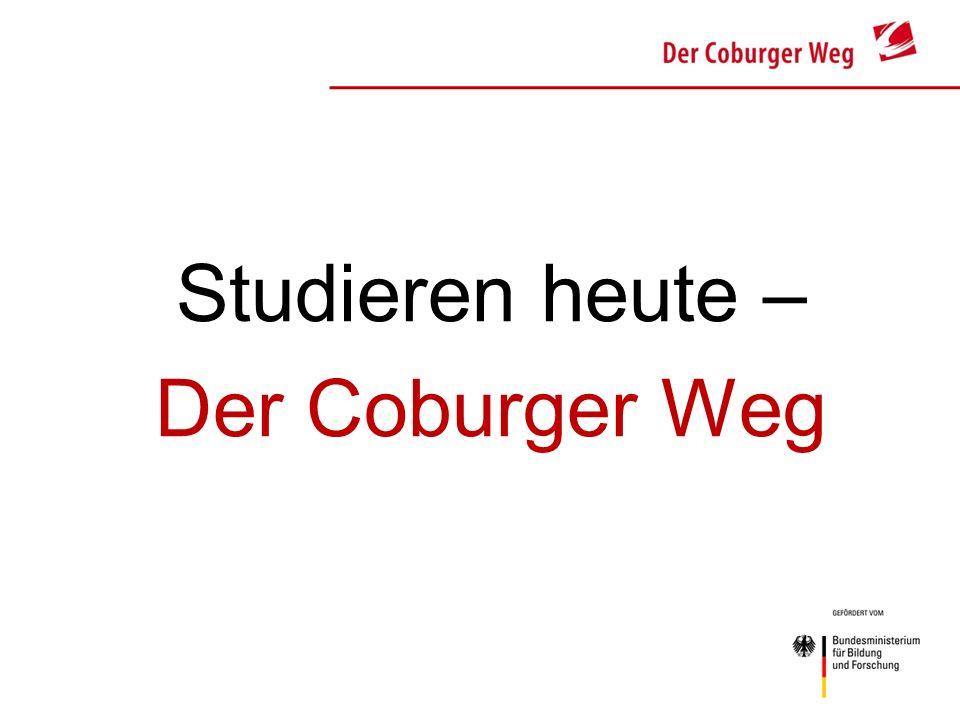 Studieren heute – Der Coburger Weg