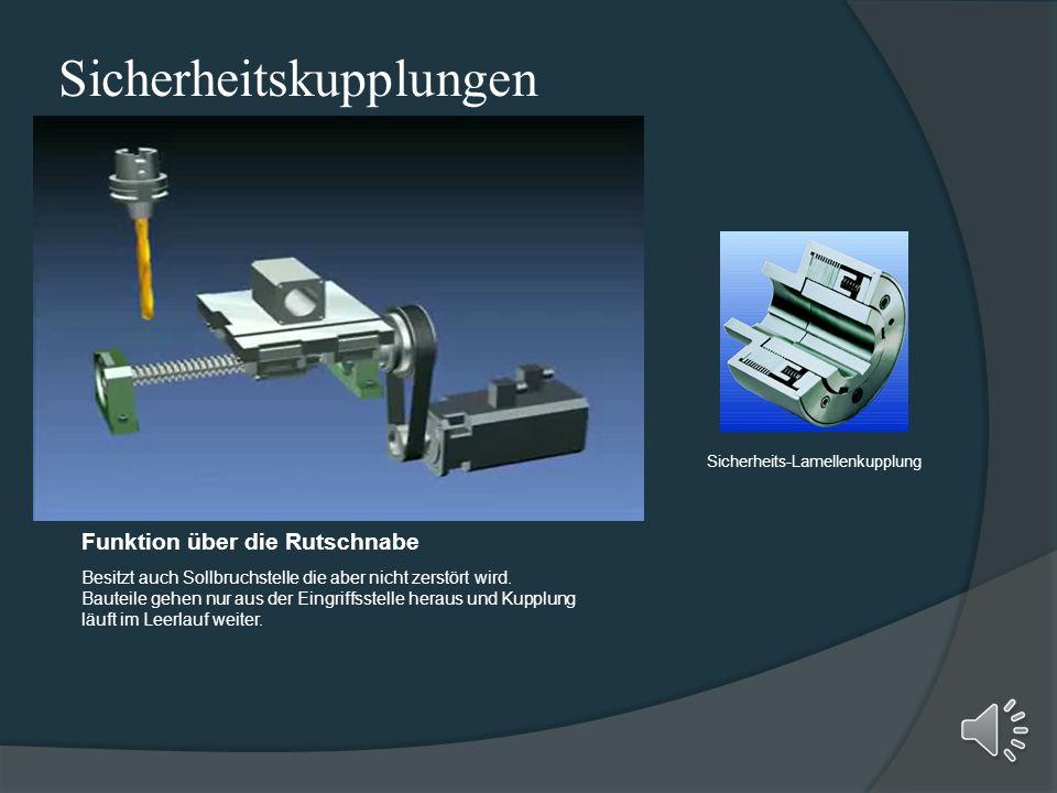 Fliehkraftkupplung Kraftschlüssige Kupplung die zum Anlauf- oder Anfahrkupplung verwendet werden kann. z.b.: Motorsäge Freilaufkupplung Ist eine Vorri