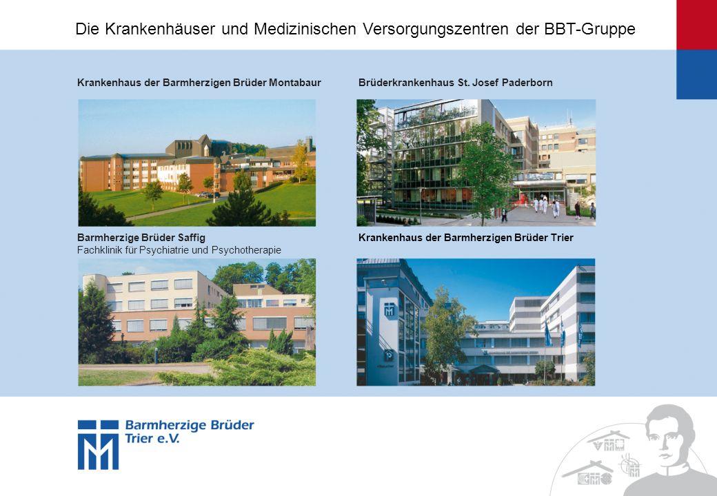 Krankenhaus der Barmherzigen Brüder MontabaurBrüderkrankenhaus St. Josef Paderborn Barmherzige Brüder Saffig Fachklinik für Psychiatrie und Psychother