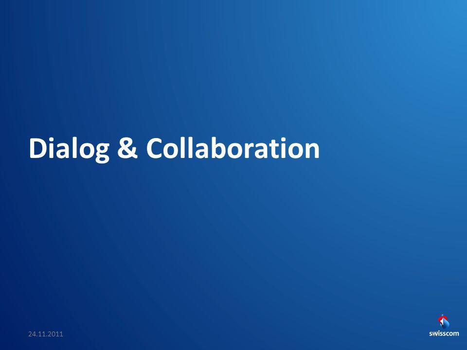 SwissCHI_SwissUPA-Vortrag Dialog & Collaboration 24.11.201147