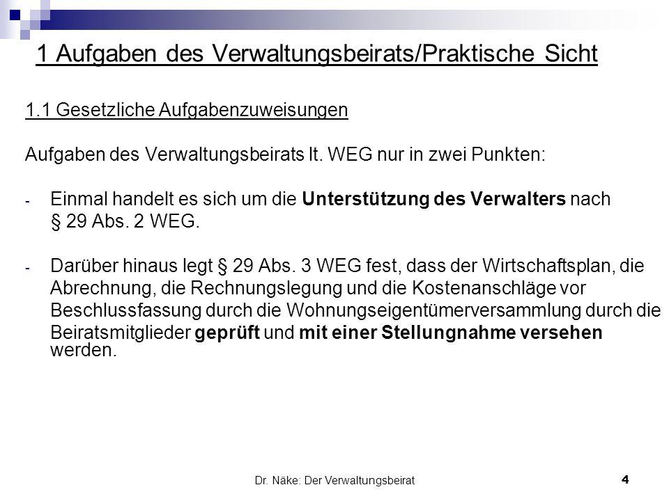6.Stimmrechtsausschlüsse des Verwaltungsbeirats Der Bestellungs- bzw.