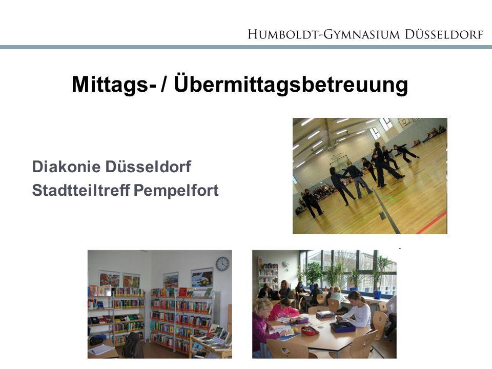 Mittags- / Übermittagsbetreuung Diakonie Düsseldorf Stadtteiltreff Pempelfort