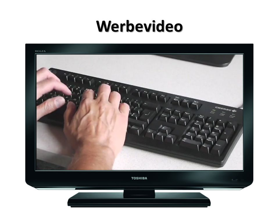 Werbevideo Kein Ärger und ohne Frust am PC