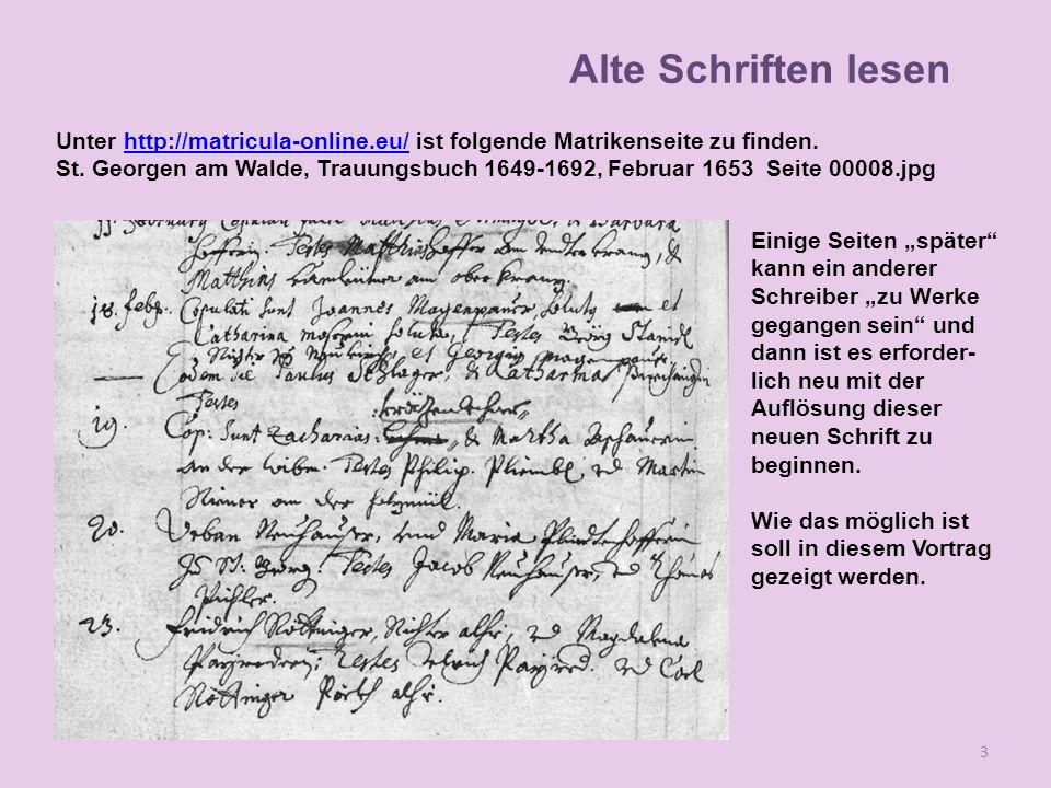 Vor 300 Jahren konnte das Volk nicht schreiben und lesen.