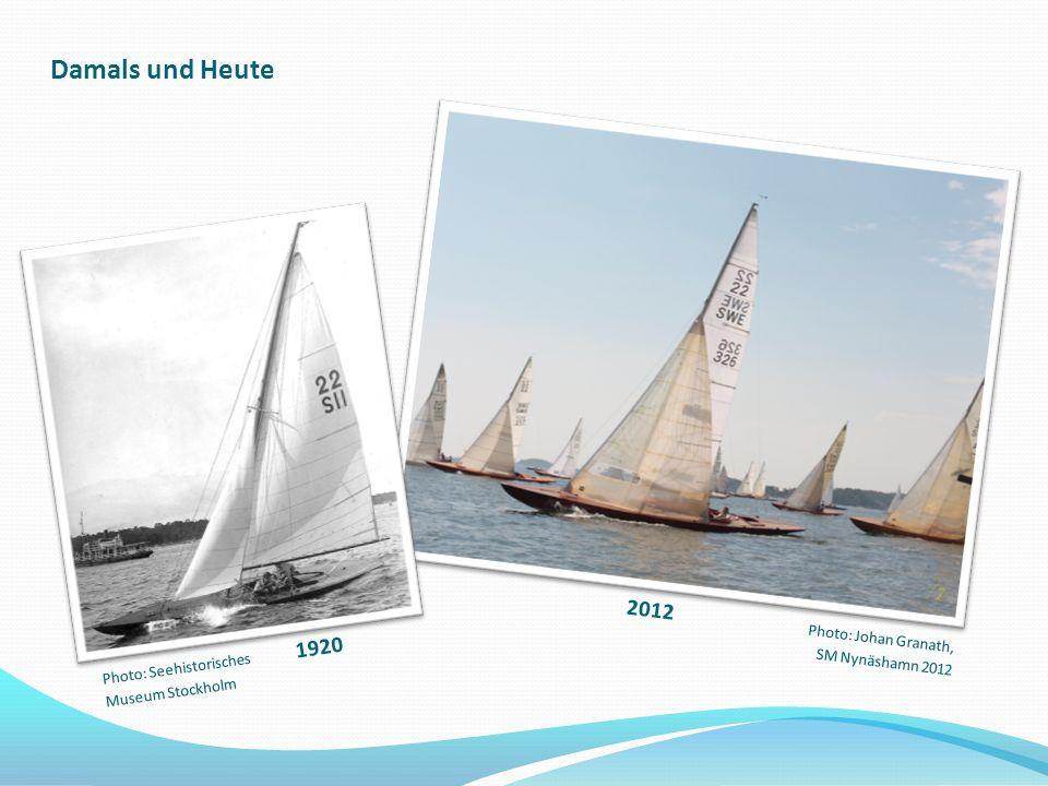 Damals und Heute 2012 1920 Photo: Johan Granath, SM Nynäshamn 2012 Photo: Seehistorisches Museum Stockholm